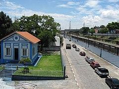 Antiga casa do chefe da esta��o, ao lado da Esta��o Po�, hoje abrigando um Museu