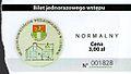 Museum of Wielkopolskie Uprising, ticket (Lusowo).jpg