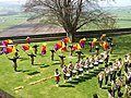 Music in the Rose Garden at Stirling Castle - geograph.org.uk - 794952.jpg