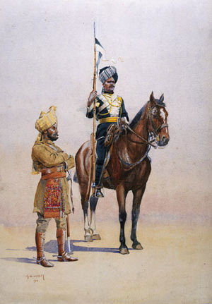Imperial Service Troops - Mysore Imperial Service Troops circa 1910