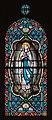 Néville-sur-Mer Église Saint-Martin et de la Sainte-Trinité Nef Baie 5 Vitrail Notre Dame de Lourdes 2013 09 01.jpg