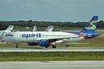 N629NK Airbus A320-232 Spirit (23565288344).jpg