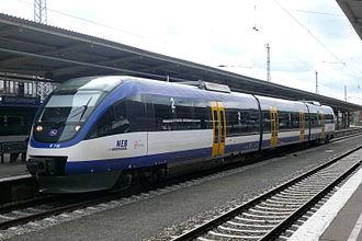 Niederbarnimer Eisenbahn - A Bombardier Talent operated by NEB at Berlin-Lichtenberg.