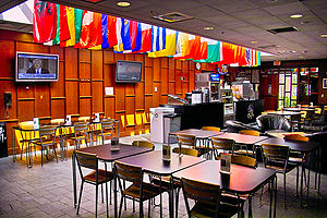 """New Hampshire Institute of Politics - The """"Commonground Cafe"""" at the NHIOP"""