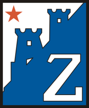 NK Zagreb - Former logo of Fiskulturno društvo Zagreb used after WWII