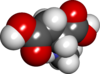 Spacefill model of N-methyl-D-aspartic acid