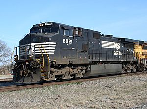 GE Dash 9-40CW - Image: NS 8921 GE C40 9W