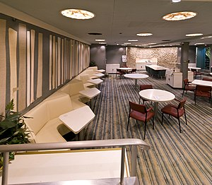 NS Savannah - The dining room.
