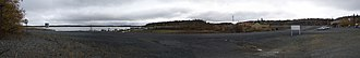 Yellowknife Historical Society - Panoramic view of future site