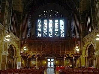 St. Bartholomew's Episcopal Church (Manhattan) - Image: NYC St. Bartholomew's 01