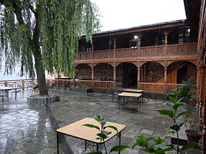 "Jab We Met - Naggar Castle (a hotel) in Naggar, where ""Yeh Ishq Haye"" song was shot"