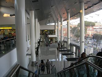 Naples International Airport - Check-in hall