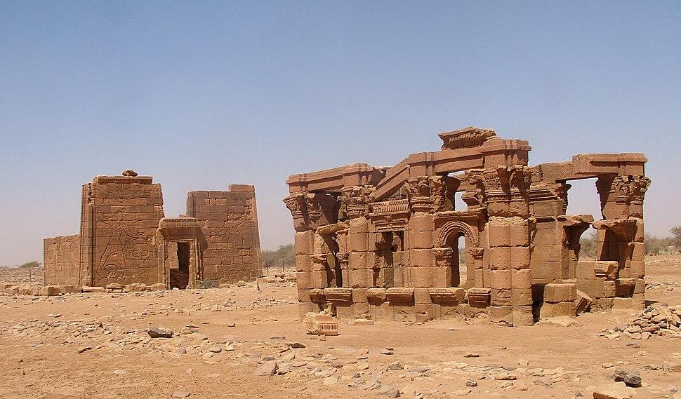 Naqa Apedamak temple