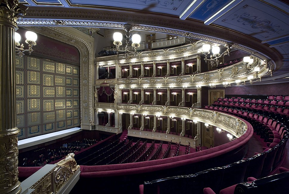 Narodni Divadlo, National Theater, Prague - 8798