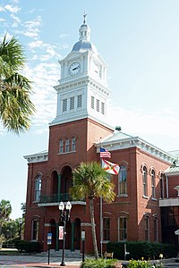 Nassau County Courthouse (2015) in Fernandina Beach