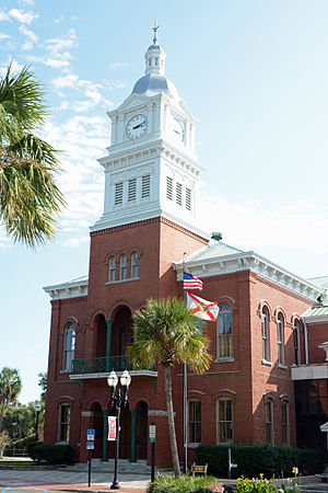 Nassau County Courthouse (Florida) - Front view