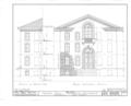 Nassau Hall, Nassau Street, Princeton, Mercer County, NJ HABS NJ,11-PRINT,4B- (sheet 13 of 25).png