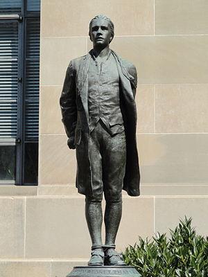 Captain Nathan Hale (statue) - Image: Nathan Hale by Bela Pratt (Washington, DC) DSC08583