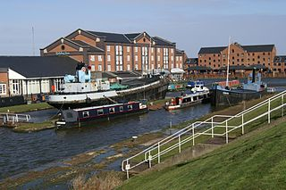 National Waterways Museum grade II listed building in the United kingdom