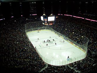 Nationwide Arena - Nationwide Arena Interior during a Blue Jackets game in 2007