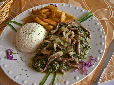 Ndolé is the national dish of Cameroon.