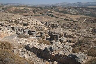 Cyrrhus - View of Cyrrhus.