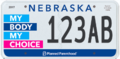 Nebraska Planned Parenthood of the Heartland License Plates.png