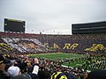 Nebraska vs. Michigan 2011 04 (Lloyd Carr card stunt).jpg