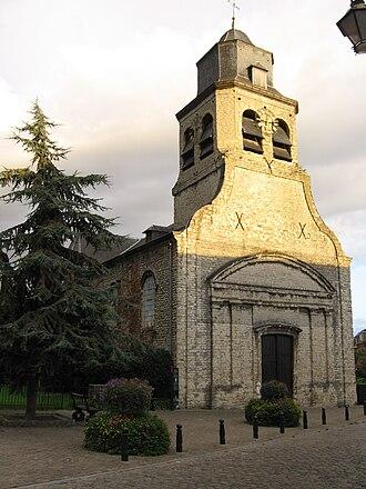 Neder-Over-Heembeek - Image: Neder over Hembeek, Eglise Saint Nicolas