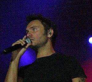 Nek - Nek performing in Valladolid, 2009.