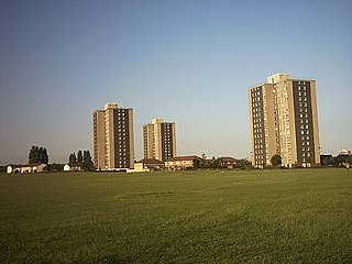 Netherfields Area of Middlesbrough, North Yorkshire, England