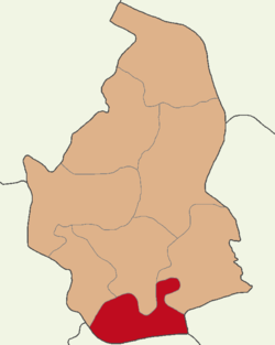 Nevşehir location Derinkuyu.png