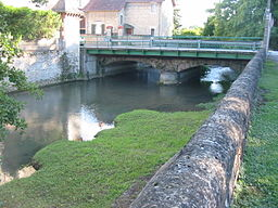 The Nièvre in Nevers