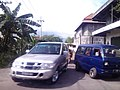 New Silver Isuzu Phanter vs Old Blue Suzuki Carry 1000, di Kembangsri, Ngoro, Mojokerto - panoramio.jpg