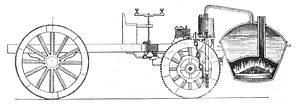 Nicolas-Joseph Cugnot´s self-propelled mechani...