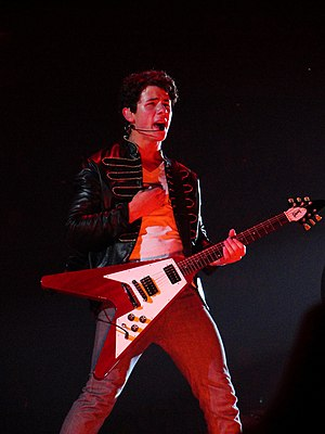 Nick Jonas - Jonas performing in July 2009.