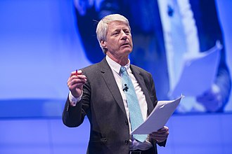 Nick Ross - Ross moderating the WTTC Global Summit 2017 in April