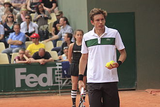 Nicolas Mahut - Mahut at the 2015 French Open.