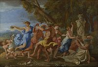 Nicolas Poussin - Bacchanal before a Statue of Pan - WGA18284.jpg