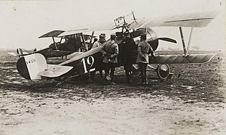 Nieuport 17 - Nieuport 17 flown by René Dorme while with escadrille N.3 during the battle of the Somme in late 1916.