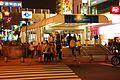 Night in Exit 1, Ximen Station 20090129.jpg