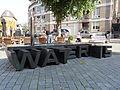 Nijmegen - Sculptuur 'WAT-ER-IS' van Marc Ruygrok op de hoek van de Ganzenheuvel-Lange Hezelstraat-Stikke Hezelstraat.jpg