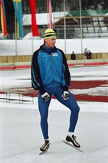 Nikolay Gulyayev Russian speed skater