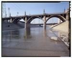 Виадук Девятой улицы, пересекающий реку Лос-Анджелес на Олимпийском бульваре, Лос-Анджелес, округ Лос-Анджелес, Калифорния, HAER CAL, 19-LOSAN, 78-47 (CT) .tif.