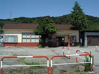 Nishi-Toyama Station Railway station in Toyama, Toyama Prefecture, Japan