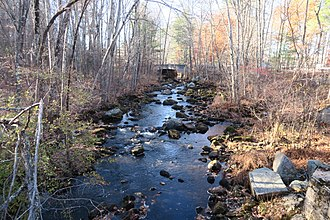Nissitissit River - Nissitissit River in Brookline, New Hampshire