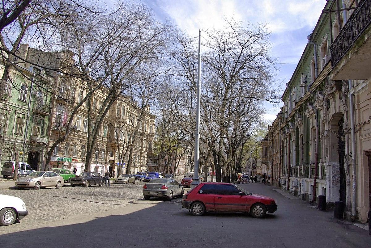 одесса фото улица нежинская известный