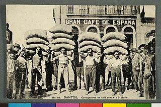 No. 118. Santos. Carregadores de Café com 4 e 5 Sacos