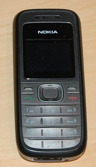 Nokia 1208 - Image: Nokia 1208