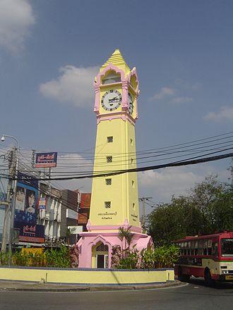 Nonthaburi (city) - Clocktower at Nonthaburi Pier